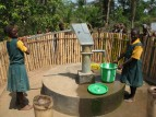 repaired water well